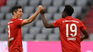 Bayern Munich 5 - Dusseldorf 0