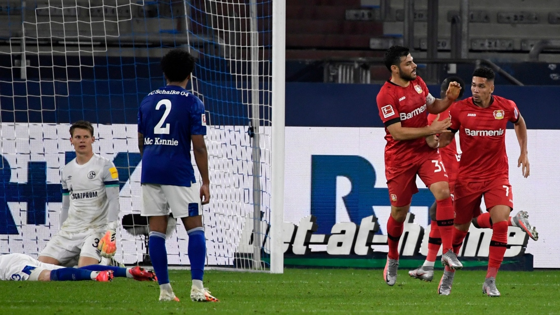 Bundesliga : Schalke 04 - Leverkusen en direct