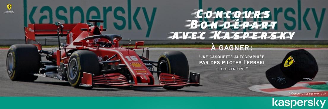 Concours Bon Départ avec Kaspersky