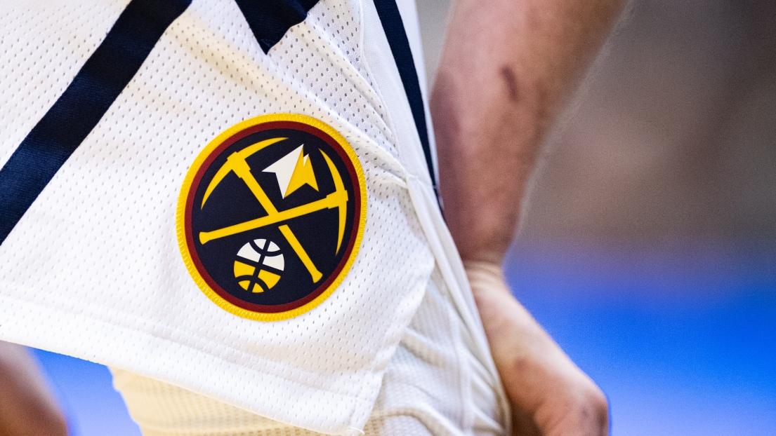 Le logo des Nuggets de Denver