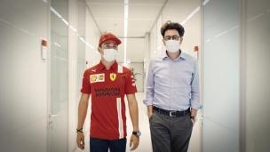 L'équipe Ferrari est prête!