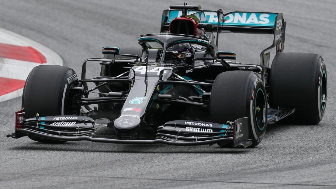F1 - GP d'Autriche : Hamilton encore meilleur temps