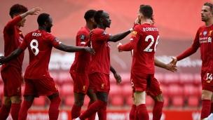 Liverpool 2 - Aston Villa 0