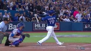 Le « Bat Flip » de Bautista fait exploser le Rogers Center