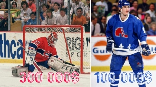 Les salaires des joueurs de la LNH en 1990