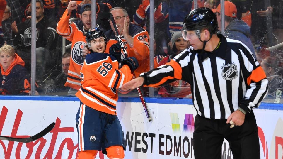 Les Oilers règlent le dossier Kailer Yamamoto