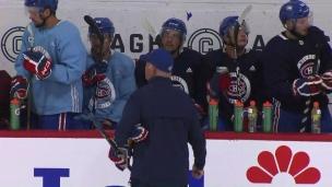 Julien se concentre sur son équipe plutôt que sur les Penguins