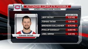 Prolonger le contrat de Tomas Tatar à tout prix?