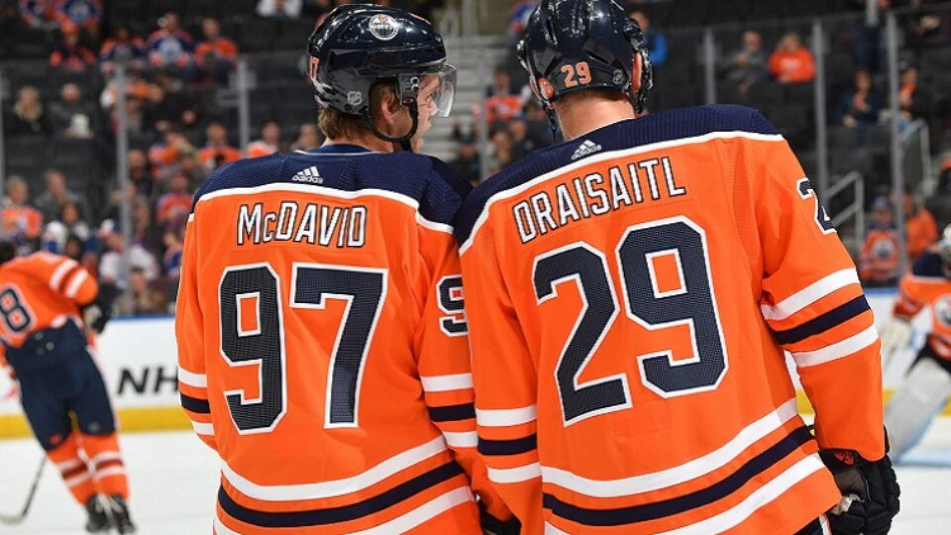 Leon Draisaitl et Connor McDavid