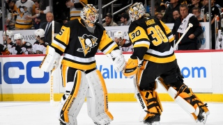 Matt  Murray et Tristan Jarry
