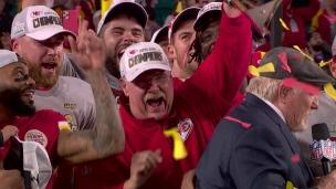 LDT : Les Chiefs appuient sa décision