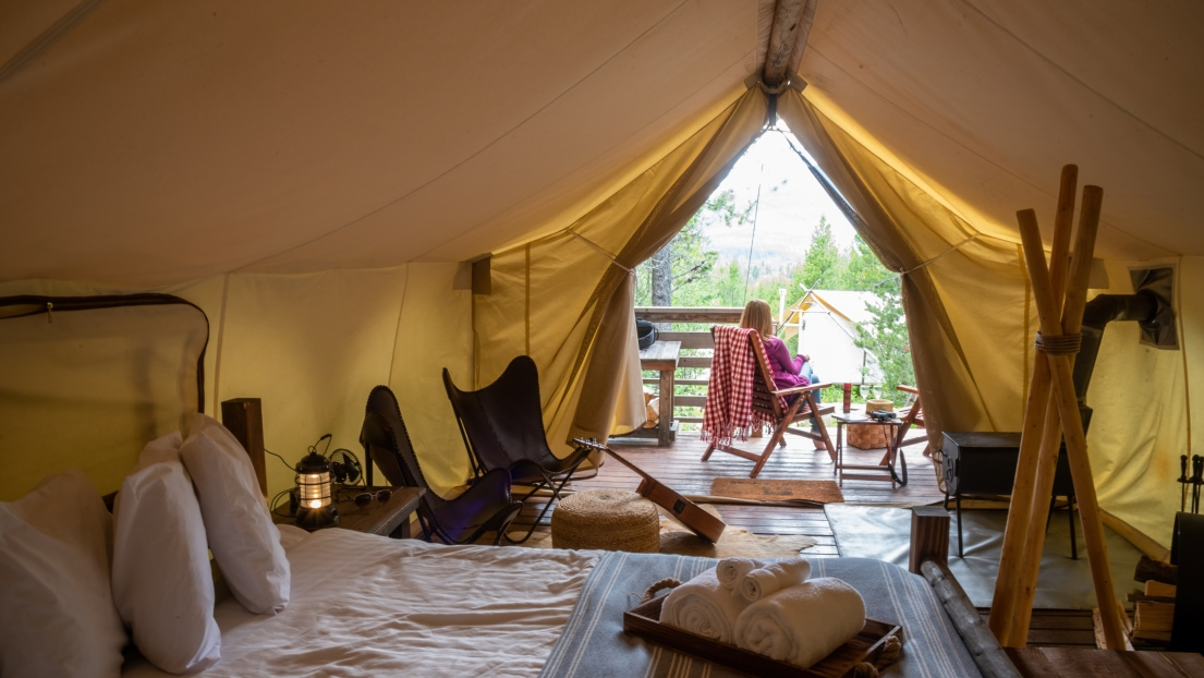 Glamping cover