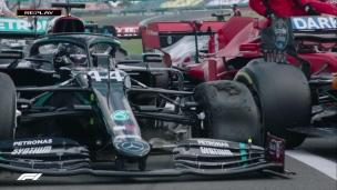 Les pneus ont souffert à Silverstone