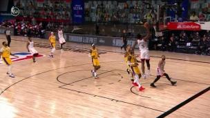 Lakers 92 - Raptors 107