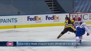 Le but de Crosby a cassé les reins dès le début