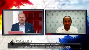 Entrevue exclusive avec Lewis Hamilton