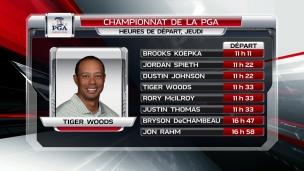 Woods à l'assaut de sa 83e victoire