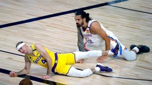 Thunder 105 - Lakers 86