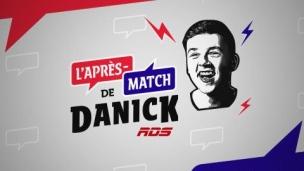 L'après-match de Danick avec Étienne Dano