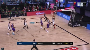 Jazz 111 - Spurs 119