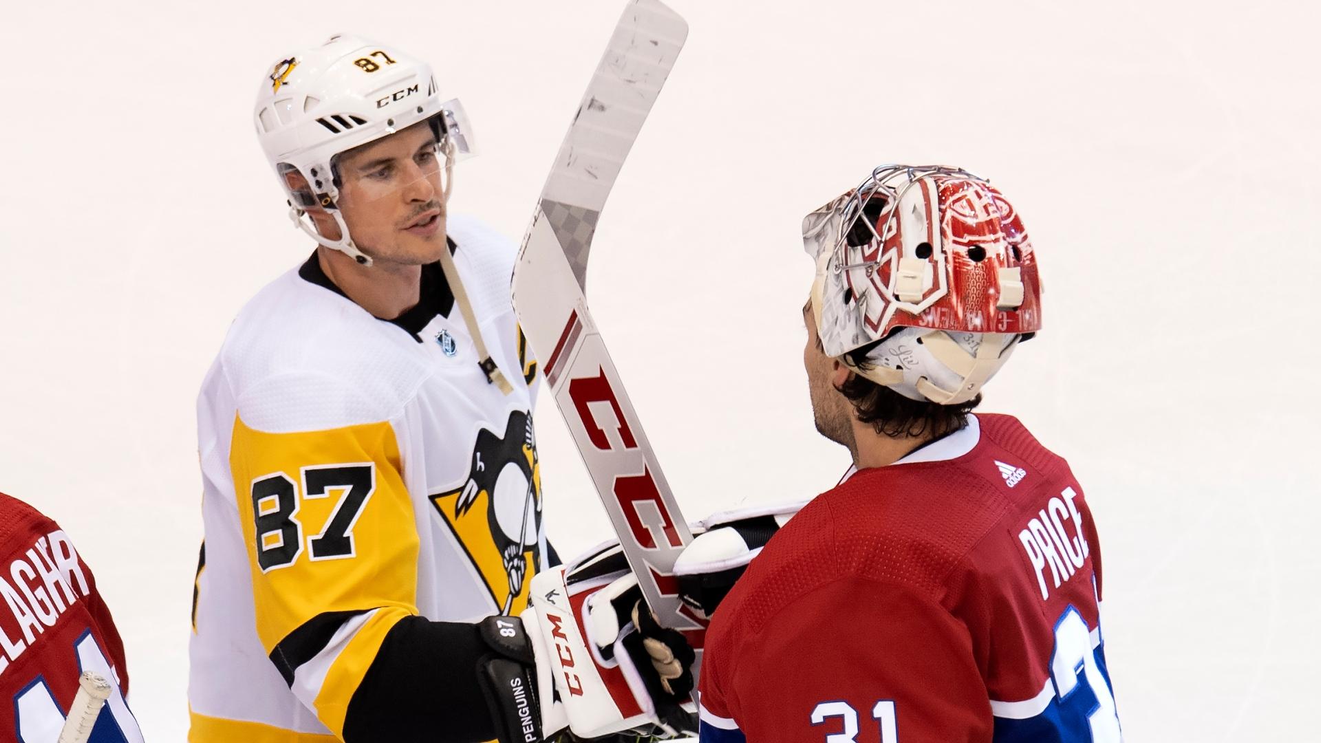 Sidney Crosby et Carey Price