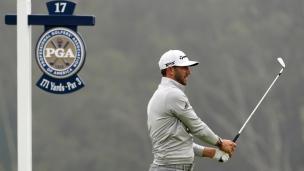 DJ s'invite en tête du Championnat de la PGA