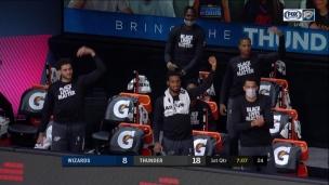 Wizards 103 - Thunder 121