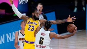 Nuggets 121 - Lakers 124