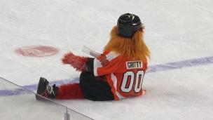 Top-5 de la mascotte des Flyers : Gritty!