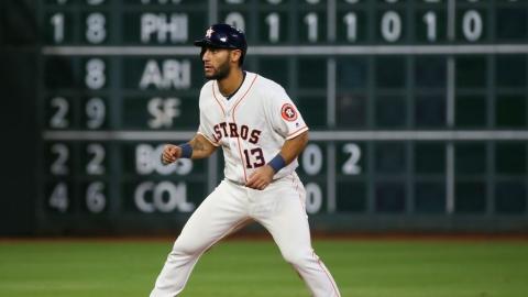 Abraham Toro est de retour avec les Astros