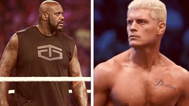 Shaquille O'Neal veut lancer un défi à Cody dans un ring de lutte