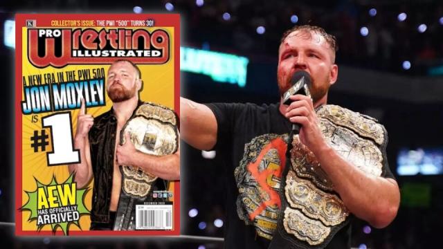 Jon Moxley est le meilleur lutteur au monde selon le top-500 du PWI