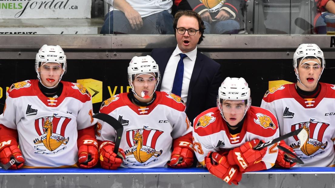 Jean-François Grégoire devient l'entraîneur du Drakkar — LHJMQ