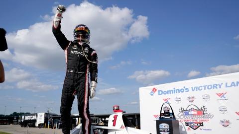 Newgarden gagne la 2e course du GP de Madison