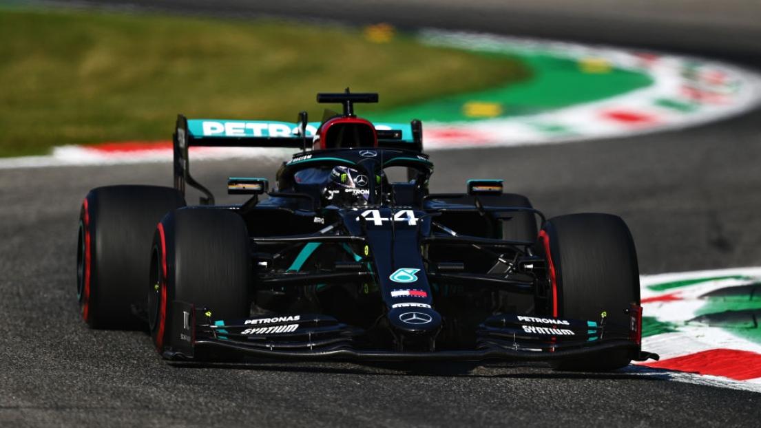 GP d'Italie - Hamilton décroche la pole juste devant Bottas !