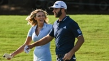 Dustin Johnson et Paulina Gretzky