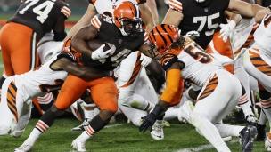 Bengals 30 - Browns 35