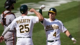 Stephen Piscotty et Jake Lamb