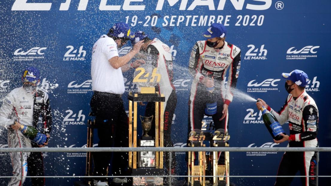 Sébastien Buemi, Kazuki Nakajima et Brendon Hartley