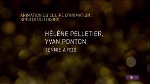 Yvan Ponton et Hélène Pelletier remportent un prix Gémeaux