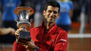 Djokovic gagne un 5e titre à Rome
