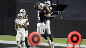 Saints 24 - Raiders 34