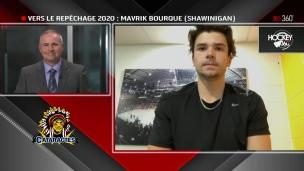Mavrik Bourque dans le moule de Nick Suzuki