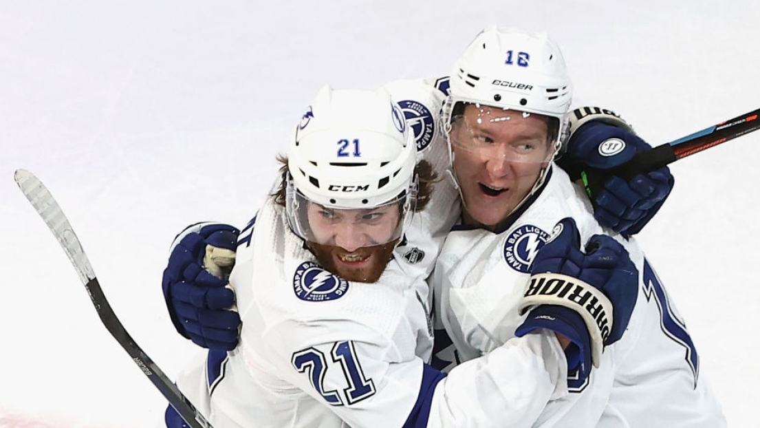Brayden Point et Ondrej Palat