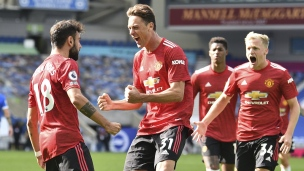 Brighton 2 - Manchester United 3