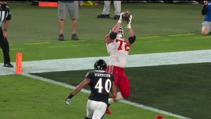 Touché Fisher! Eric Fisher? Oui!