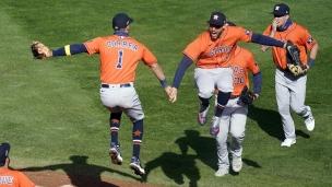 Astros 3 - Twins 1