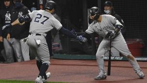 Yankees 10 - Indians 9