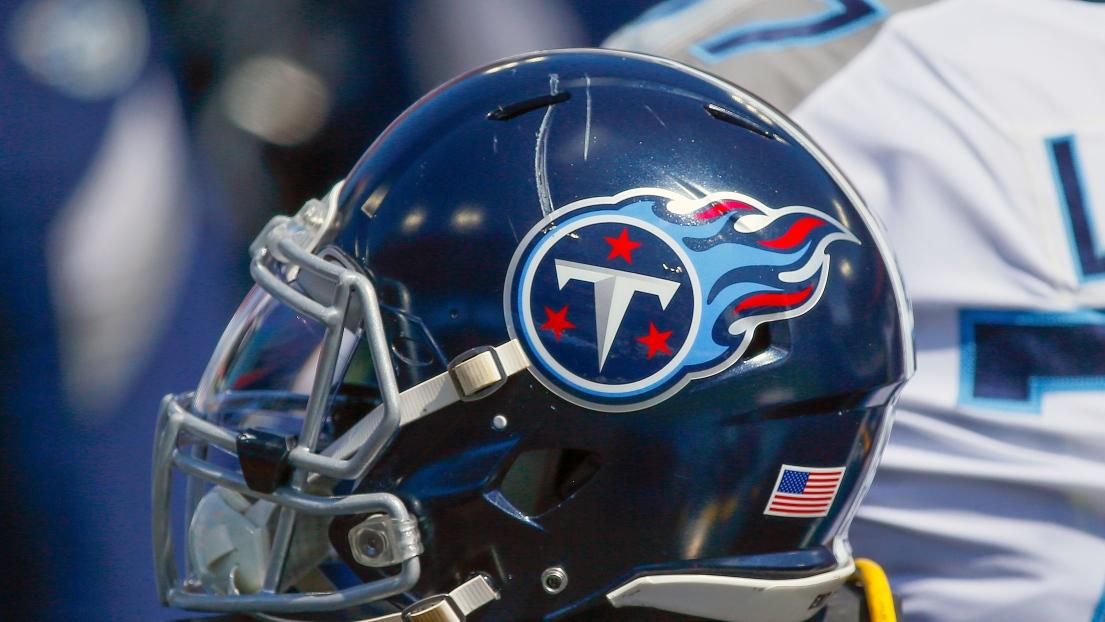 Un casque des Titans du Tennessee