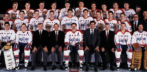 Les Capitals de Washington de 1987-1988